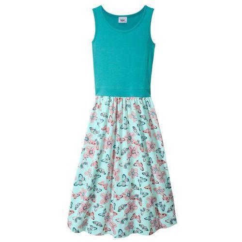 324817b503 ▷ Sukienka dresowa z modnym kołnierzem czarno-kolorowy melanż ...
