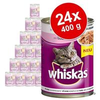 Whiskas Megapakiet adult, puszki, 24 x 400 g - drób w sosie