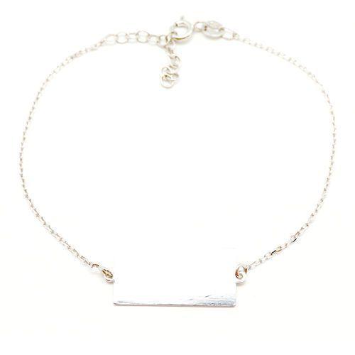4c7162c9a1dfb4 Bransoletka srebrna SB.032.01 SAXO Biżuteria damska ze srebra - Galeria  produktu ...