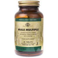 Solgar Male Multiple dla mężczyzn - 60 tabletek
