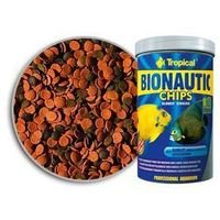 bionautic chips pokarm dla ryb morskich 250ml/130g marki Tropical