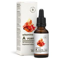 Krople Witamina A Forte - w kroplach (30ml) Aura Herbals