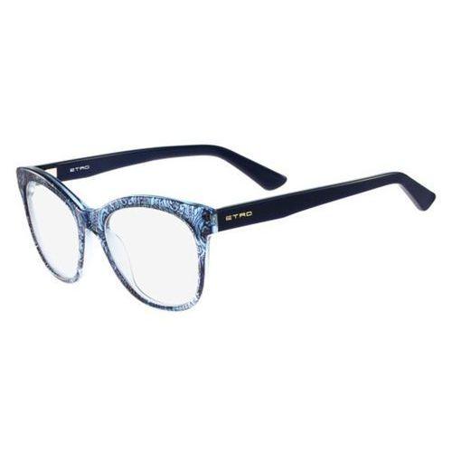 Etro Okulary korekcyjne et 2605 404