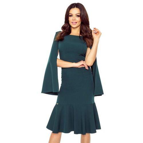 Koktajlowa sukienka z rozcinanymi rękawami, M53723_1_s