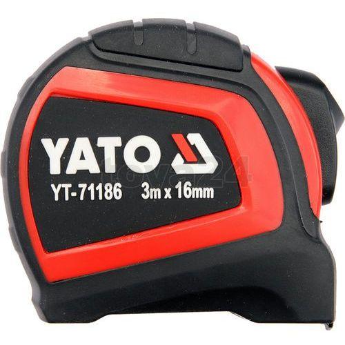 Miara zwijana 3 m x 16 mm yt-7129 - zyskaj rabat 30 zł marki Yato