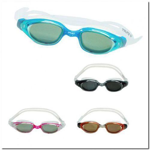 Upl-02 yaf mirror clear/pink okularki Spurt