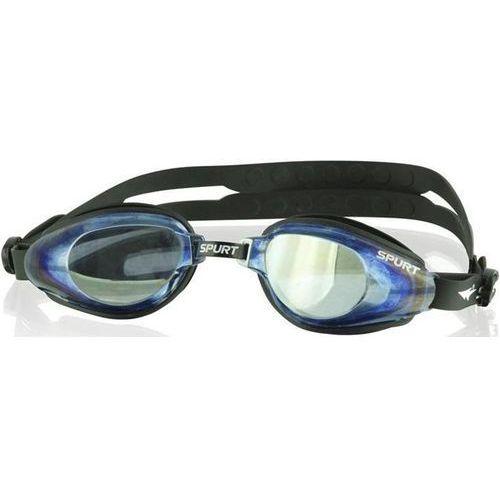 Okulary pływackie kor-60 af czarny Spurt