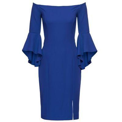 570c40e982 suknie sukienki rozkloszowana zielona sukienka la robe w kategorii ...