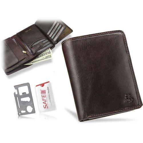 f2b3942d52375 Klasyczny portfel męski skórzany tsc44 - brązowy (Visconti) - sklep ...