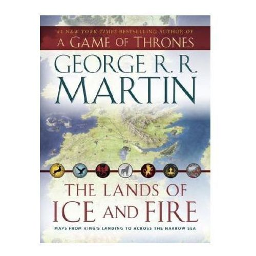 The Lands of Ice and Fire, 12 maps (9780345538543)