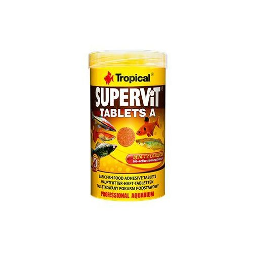TROPICAL SuperVit Tablets A 50ml 80szt. - 50 (5900469206225)