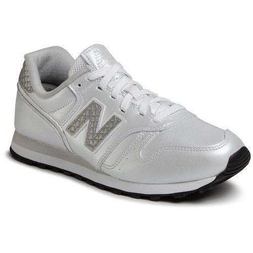 New balance Sneakersy - wl373gd2 srebrny