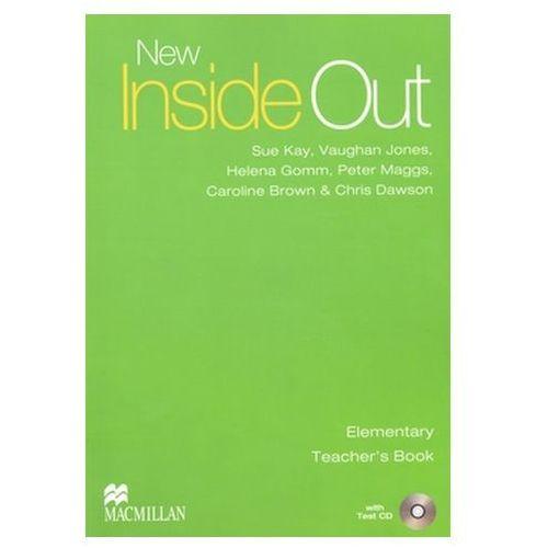 New inside out elementary Teacher`s book + Cd (202 str.)