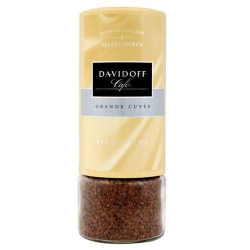 fine aroma - rozpuszczalna - 100g - słoik marki Davidoff