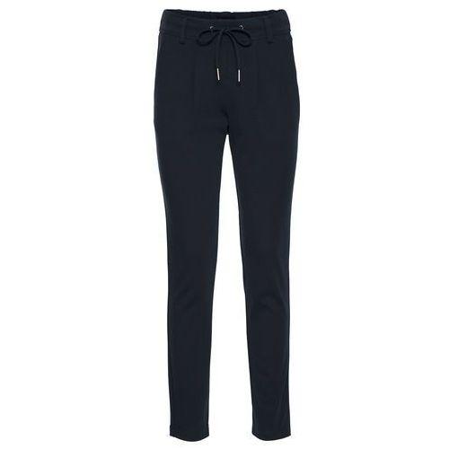 """Bonprix Spodnie ze stretchem 7/8 (2 pary) biały + niebieski """"bleached"""""""