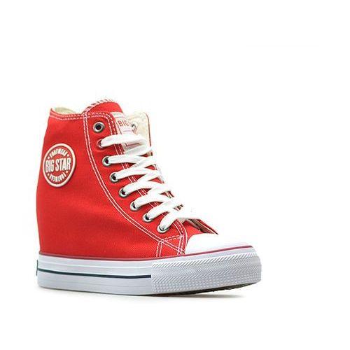 Trampki u274905 czerwone marki Big star