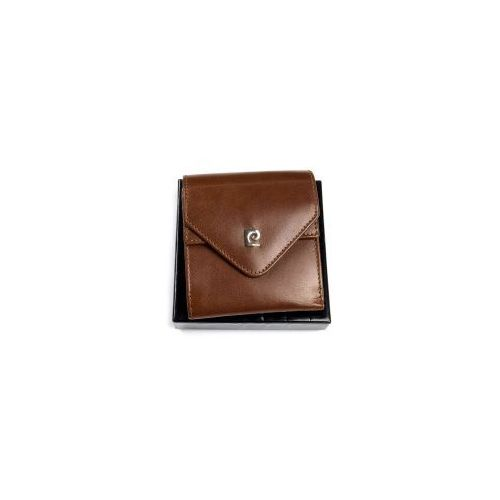 24dc28f219753 Mały portfel skórzany Pierre Cardin YS507.10 3004 brązowy