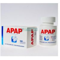 Tabletki Apap 100 tabletek powlekanych
