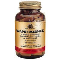 SOLGAR Wapń i Magnez w postaci cytrynianu 100 Kapsułek (033984005099)