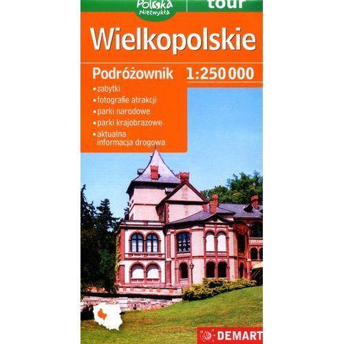 Wielkopolskie podróżownik mapa samochodowa (9788374279444)