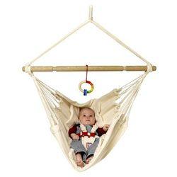 Yayita - Bawełniany hamak dla niemowląt W*, kocyk: wełniane wypełnienie, La Siesta