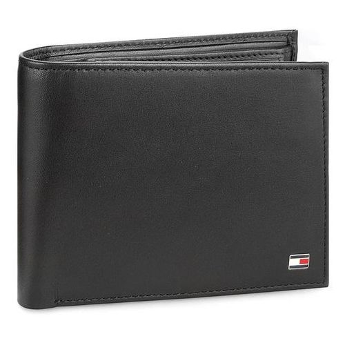 Duży Portfel Męski TOMMY HILFIGER - Eton Cc Flap And Coin Pocket AM0AM00652 002