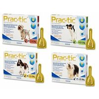 Novartis Practic spot-on 3 pipety 275 mg/2,2 ml psy 11-22 kg