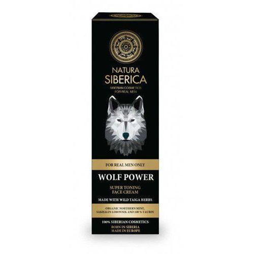 Tonizujący krem do twarzy siła wilka 50ml Natura siberica