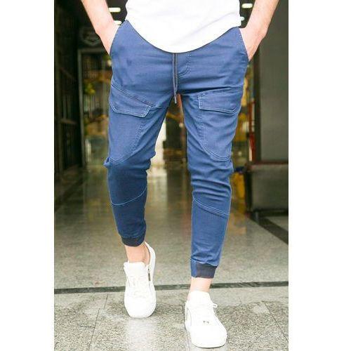 Męskie spodnie SCOTT BLUE, w 4 rozmiarach