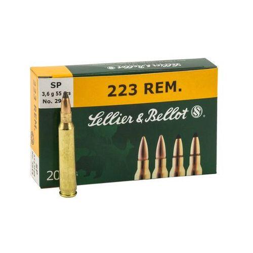 Amunicja .223 rem 3,6g/55grs fmj marki Sellier&bellot