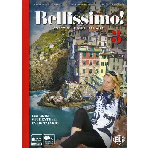 Bellissimo 3 Libro + Eserciziario + CD - książka (2015)