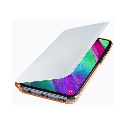 galaxy a40 wallet cover ef-wa405pw (biały) marki Samsung