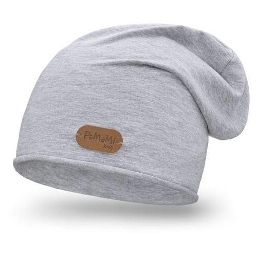 Wiosenna czapka PaMaMi - Jasnoszary