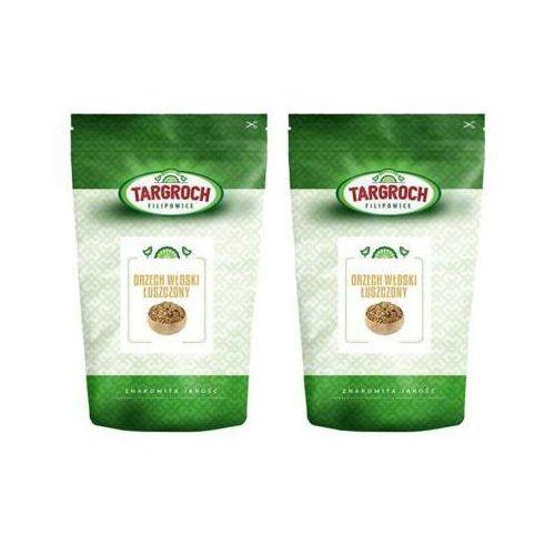 500g orzechy włoskie łuszczone x2 Targroch