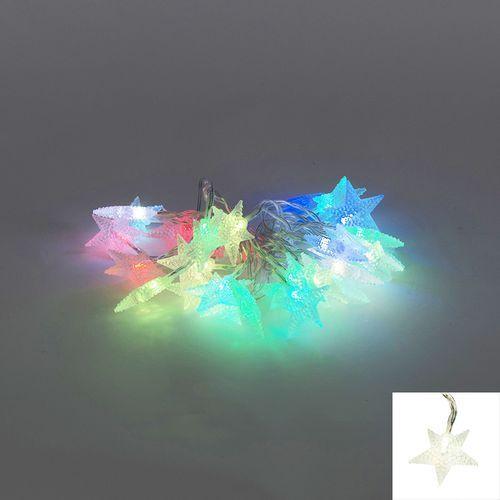 Diverse Oswietlenie swiateczne lancuch swietlny ster 30 led kolorowe 4 m