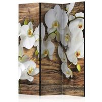 Parawan do mieszkania 3-częściowy - Leśna orchidea 135 szer. 172 wys.