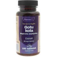 Tabletki Gotu kola/ wąkrotka azjatycka - ekstrakt 4:1 180 tab - Pharmovit