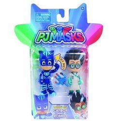 Cobi Pj masks świecąca figurka 2-pak, catboy and romeo - darmowa dostawa kiosk ruchu
