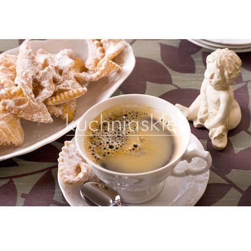 Porcelana Krzysztof Fryderyka serwis obiadowo-kawowy 6 osób 31 elementów