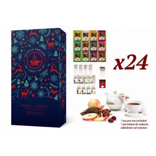 Prezent na walentynki - zestaw konesera z herbatą sir william's tea oraz royal taste marki Poznajsmaki