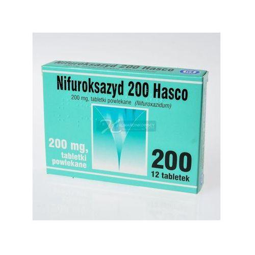 NIFUROKSAZYD 200 MG X 12 TABL.POWL.HASCO
