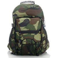 Wygodny modny plecak turystyczny bag street moro