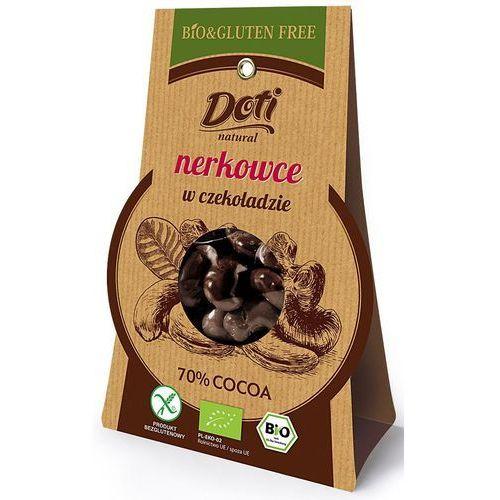 Orzechy nerkowca w czekoladzie deserowej BIO 60g. - DOTI - Genialny upust