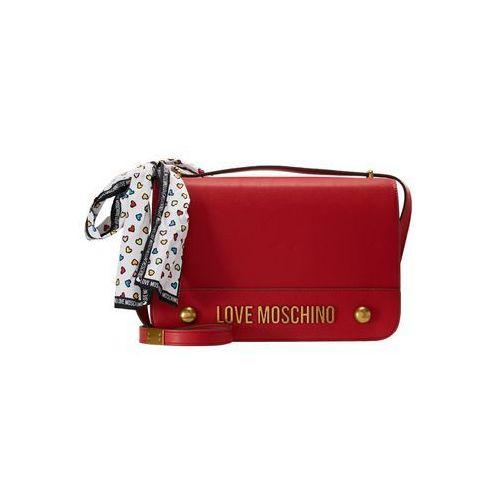 Love Moschino MOSCHINO BOW SHOULDERBAG Torba na ramię rosso, JC4347PP05K60