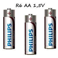 Bateria alkaliczna philips power AA 1,5V 1szt, BC70-485E9