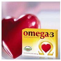 Kapsułki Omega 3 500mg - Olej z łososia 120 kaps.