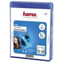 Pudełko HAMA Blu-Ray Slim Box (3 sztuki) (4007249514691)