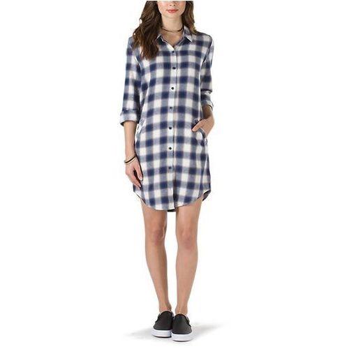 Sukienka VANS - Brigade Ii Dress Marshmallow (FS8) rozmiar: S, kolor biały