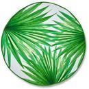 Ręcznik plażowy bonprix zielony