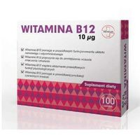 Tabletki Witamina B12 10µg x 100 tabletek